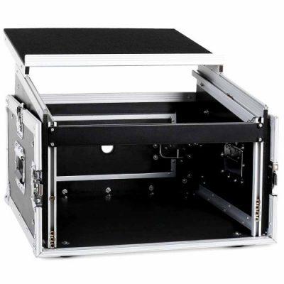 קייס 6U + מיקסר + מחשב SPEED CASE לבמה ציוד הגברה ותאורה
