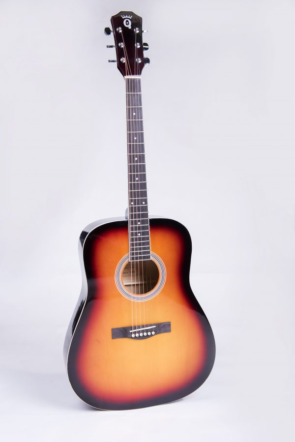 גיטרה אקוסטית QUEEN A10 לבמה כלי נגינה