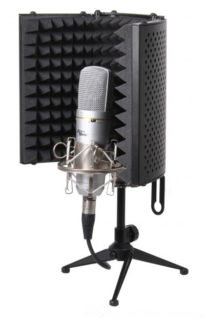 מסך אקוסטי למיקרופון APEXTONE-S105S לבמה ציוד אולפן ודי ג'יי