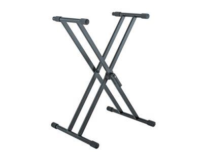 סטנד X כפול לקלידים כבדים Konig & Meyer לבמה- כלי נגינה