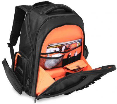 תיק גב לדי ג'יי UDG Ultimate Backpack Black/Orange Inside לבמה