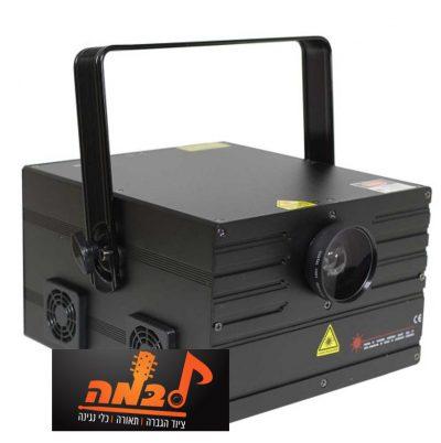 מכונת לייזר LZ LS-2000RGB - 2W ILDA