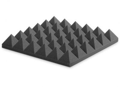 ספוג אקוסטי אפור פירמידות - PYRAMIDAL 10 EZFOPY10CH לבמה ציוד אולפן