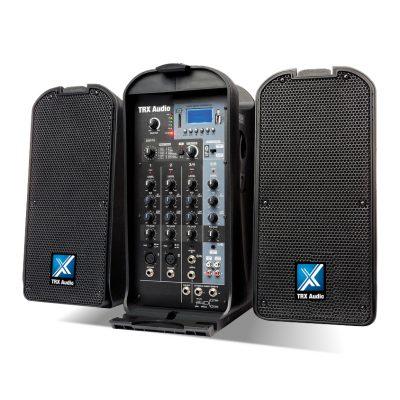 מערכת הגברה ניידת TRX Audio P5000 לבמה ציוד הגברה ותאורה