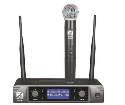מיקרופון אלחוטי מבית TRX Audio U-5096 לבמה ציוד הגברה ותאורה