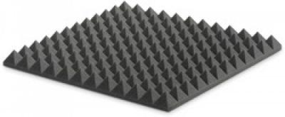 ספוג אקוסטי אפור פירמידות EZ Acuostics- PYRAMIDAL 5 לבמה ציוד אולפן