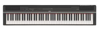 פסנתר חשמלי Yamaha P-125B Black לבמה כלי נגינה