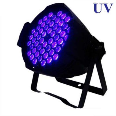 פנס תומס לד אולטרה סגול - PE-UV 72*3W