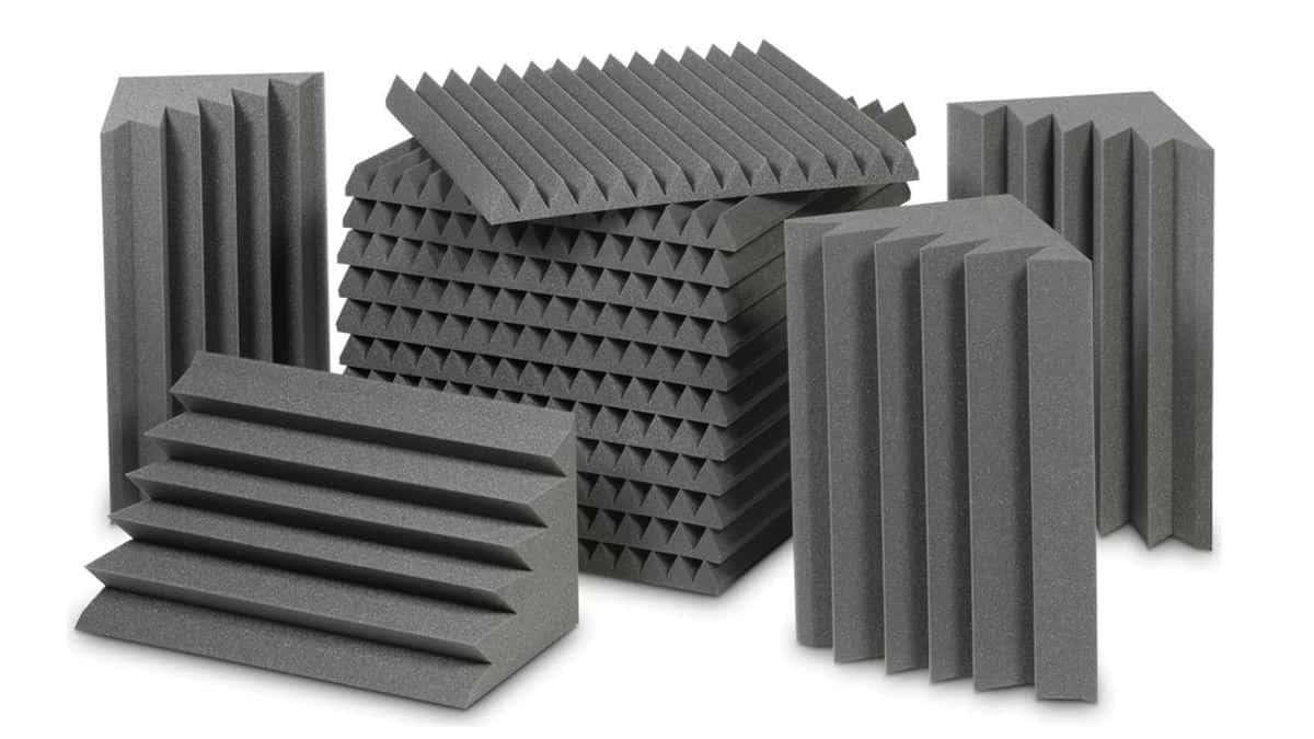 חבילת ספוגים לאקוסטיקה לחדר - EZ Foam Acoustic Pack Small לבמה אולפן