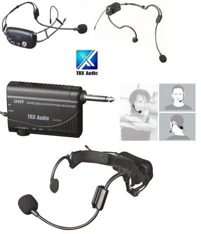 מדונה אלחוטית עם משדר מובנה TRX Audio X4000 לבמה ציוד הגברה ותאורה