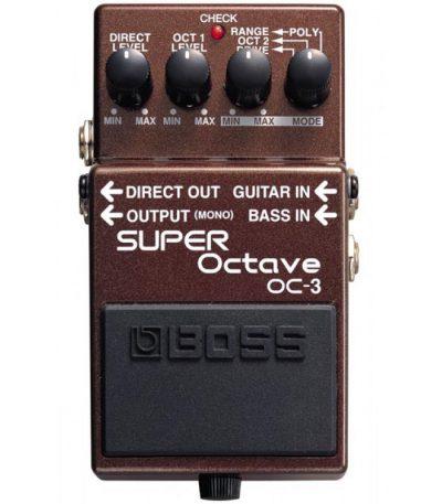 פדל אפקט אוקטבר BOSS OC-3 לבמה כלי נגינה