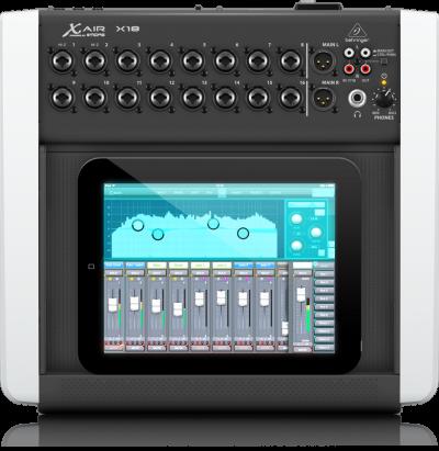 מיקסר דיגיטלי אלחוטי 16 ערוצים Behringer-X AIR X18 לבמה ציוד הגברה
