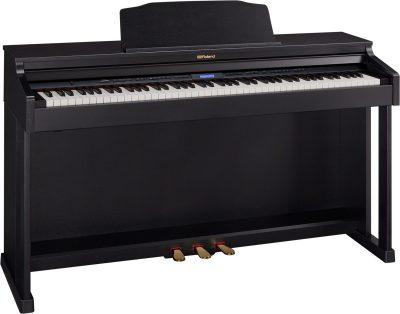 פסנתר חשמלי - Roland HP601 Polished Ebony