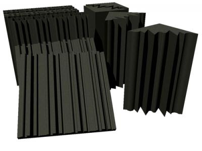 סט ספוגים אקוסטים 4 מלכודות בס+8 לוחות אקוסטיים Vicoustic לבמה אולפן