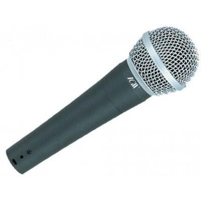 מיקרופון דינמי לשירה ודיבור ICM - I396 לבמה ציוד הגברה ותאורה