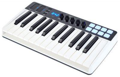 מקלדת שליטה - IK Multimedia iRig Keys I/O 25 לבמה ציוד אולפן ודי ג'יי