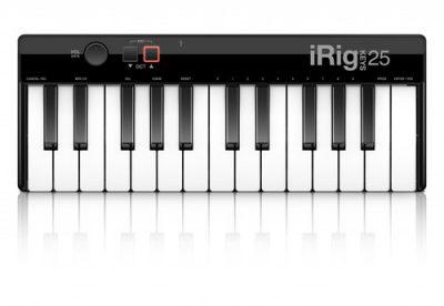מקלדת שליטה - IK Multimedia Rig Keys Mini לבמה ציוד אולפן ודי ג'י