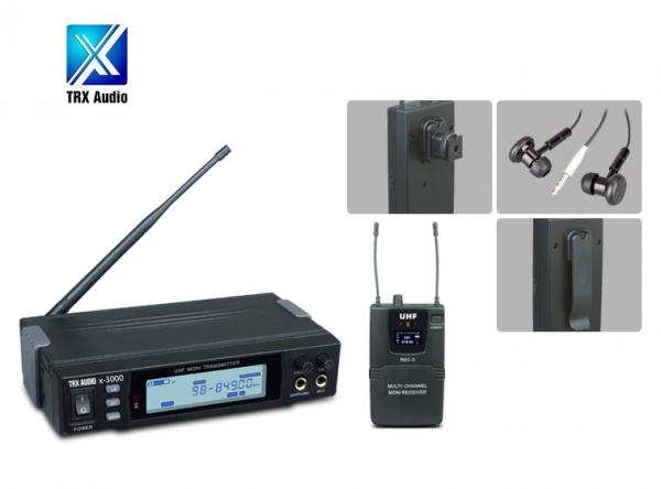 אוזניות מוניטור TRX AUDIO- X-3000 IN EAR