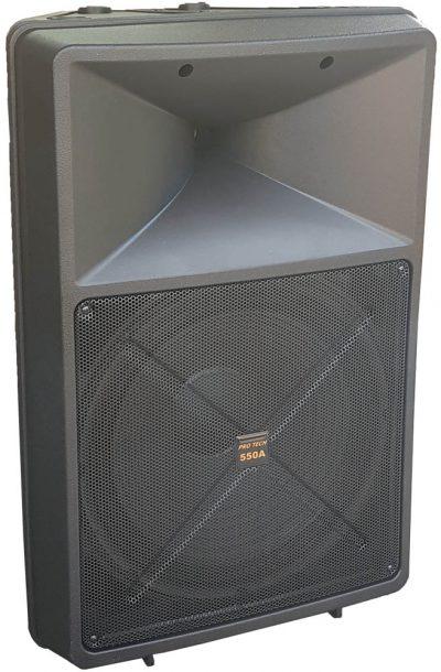 רמקול מוגבר - Protech 550A - לבמה ציוד הגברה ותאורה