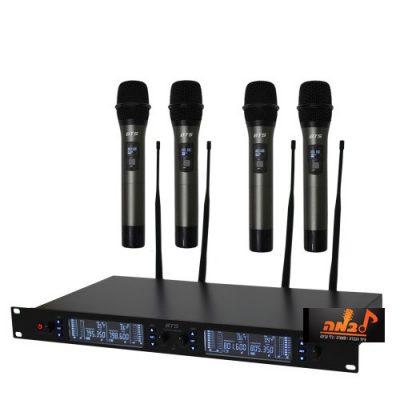 סט של 4 מיקרופונים אלחוטיים BTS IU 2065 S4 לבמה ציוד הגברה