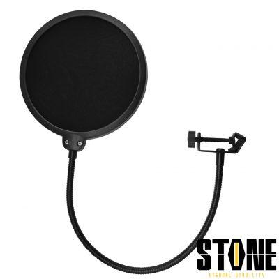 פופ פילטר - Stone JY-P001 לבמה ציוד אולפן ודי ג'ייפופ פילטר - Stone JY-P001 לבמה ציוד אולפן ודי ג'יי