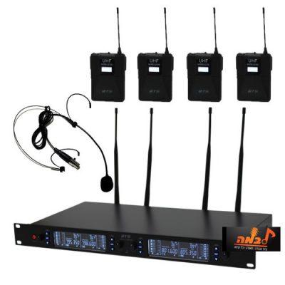 סט של 4 מיקרופונים מדונה BTS IU-2065-S5H לבמה ציוד הגברה