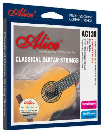 סט מיתרים לגיטרה קלאסית Alice AC130-N לבמה כלי נגינה