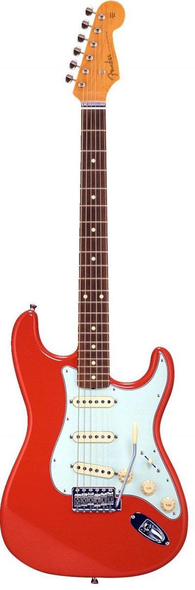 גיטרה חשמלית - Fender Stratocaster Japan לבמה כלי נגינה