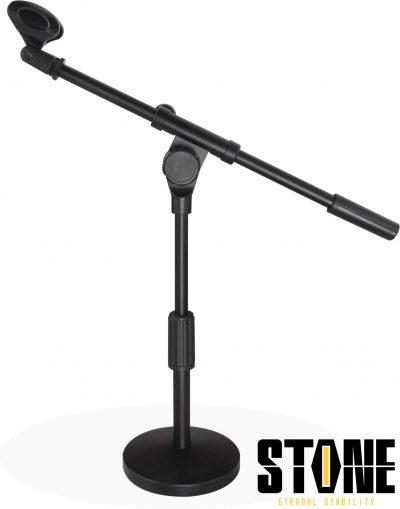 סטנד מיקרופון נמוך עם משקולת Sotne JY-034 לבמה ציוד הגברה ותאורה