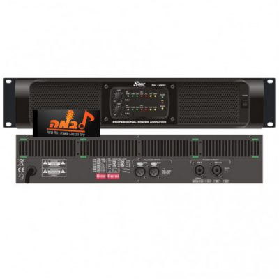 מגבר דיגיטלי 2 ערוצים SEER TD1200 - לבמה ציוד הגברה ותאורה