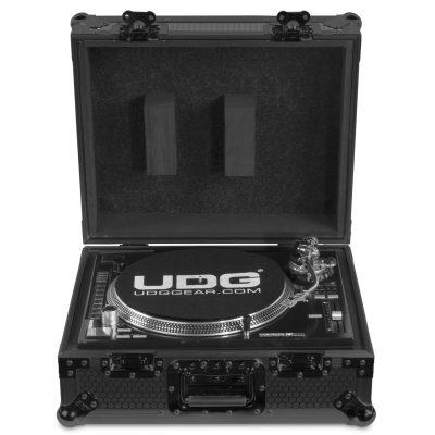 קייס קשיח לפטיפון UDG Ultimate Flight Case Multi Format Turntable - לבמה ציוד הגברה ותאורה