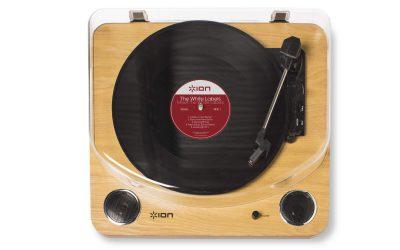 פטיפון ביתי עם חיבור ION AUDIO MAX LP Turntable USB - לבמה ציוד הגברה ותאורה