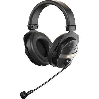 אוזניות עם מיקרופון מובנה Behringer HLC 660M - לבמה ציוד הגברה ותאורה בע״מ