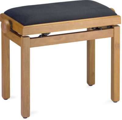 כיסא פסנתר מעץ אלון Stagg - לבמה ציוד הגברה ותאורה בע״מ