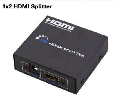 מפצל מגביר HDMI 1:2 תומך 3D תומך 4K