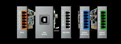 אלמנטים מודולרים למעבד Xilica Solaro I/O Option Cards DSP - לבמה ציוד הגברה ותאורה בע״מ