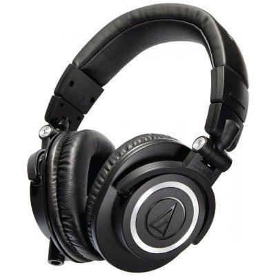 אוזניות מוניטור מקצועיות Audio Technica ATH-M50X - לבמה ציוד הגברה ותאורה בע״מ