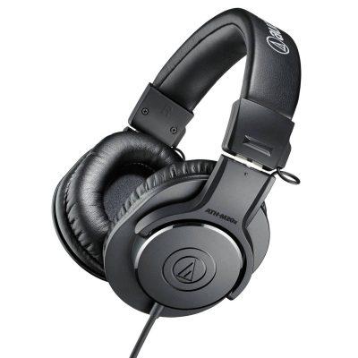 אוזניות מוניטור Audio Technica ATH-M20X - לבמה ציוד הגברה ותאורה בע״מ