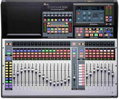 מיקסר דיגיטלי 32 ערוצים PreSonus StudioLive 32SX - לבמה ציוד הגברה ותאורה בע״מ