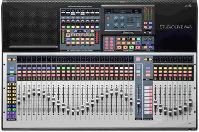 מיקסר דיגיטלי 64 ערוצים PreSonus StudioLive 64S - לבמה ציוד הגברה ותאורה בע״מ
