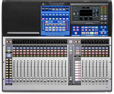 מיקסר דיגיטלי 32 ערוצים PreSonus StudioLive 24 - לבמה ציוד הגברה ותאורה בע״מ