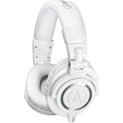 אוזניות מוניטור מקצועיות Audio Technica ATH-M50XWH - לבמה ציוד הגברה ותאורה בע״מ