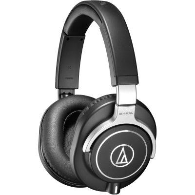 אוזניות אולפן מקצועיות Audio Technica ATH-M70X - לבמה ציוד הגברה ותאורה בע״מ