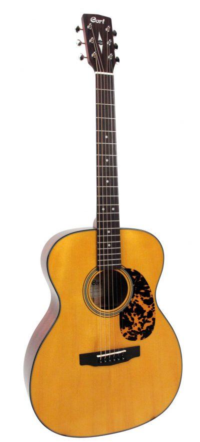 גיטרה אקוסטית מוגברת Cort L300VF NAT - לבמה ציוד הגברה ותאורה בע״מ