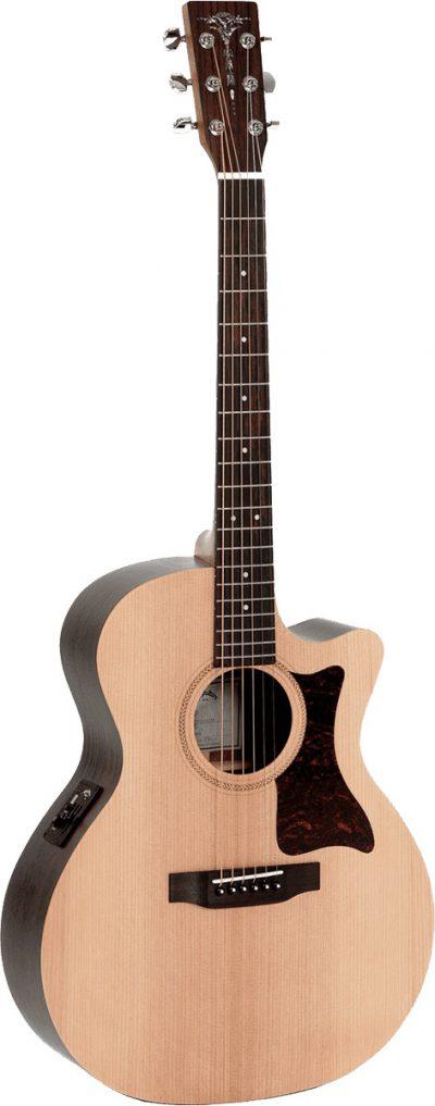גיטרה אקוסטית מוגברת Sigma GTCE CUTAWAY - לבמה ציוד הגברה ותאורה בע״מ