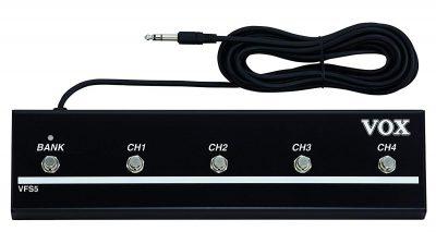 קופסאת Foot Switch 5 מתגים Vox VFS-5 - לבמה ציוד הגברה ותאורה בע״מ