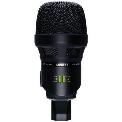 מיקרופון תוף בס כפול דינמי/קונדנסר Lewitt DTP 640 REX - לבמה ציוד הגברה ותאורה בע״מ