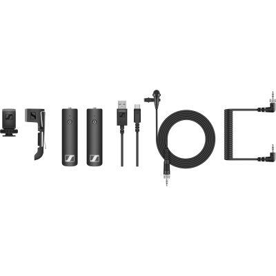 סט מיקרופון משדר-מקלט אל-חוטי Sennheiser XSW-D PORTABLE LAVALIER SET - לבמה ציוד הגברה ותאורה בע״מ