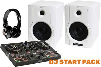DJ START PACK-חבילת די ג'י לבמה ציוד אולפן