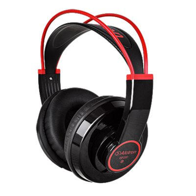אוזניות מוניטור בצבע שחור/אדום Alctron HP280 - לבמה ציוד הגברה ותאורה בע״מ